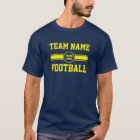 Custom Team Football T-Shirt