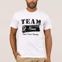 Custom Team Name - Brain Cancer T-Shirt