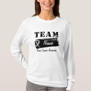 Women S Team Name Printed Longsleeve T Shirts Zazzle