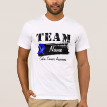 Custom Team Name - Colon Cancer T-Shirt