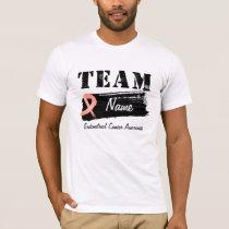 Custom Team Name - Endometrial Cancer T-Shirt