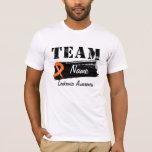 Custom Team Name - Leukemia T-Shirt