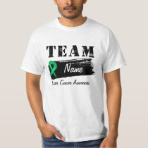 Custom Team Name - Liver Cancer T-Shirt
