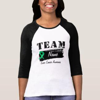 Custom Team Name - Liver Cancer T-Shirt