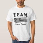 Custom Team Name - Melanoma T-Shirt