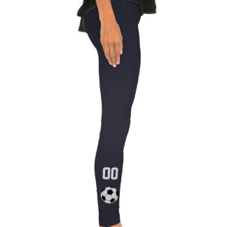 Custom Team Number Soccer Legging