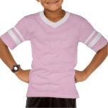 Custom Team Pink Girls Name Kids Sports Jersey Shirt