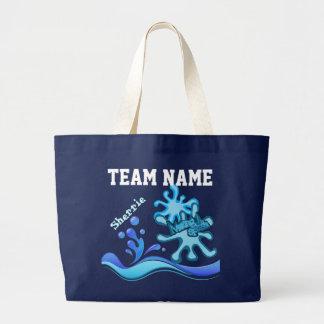 Custom Team Swim Tote Bags