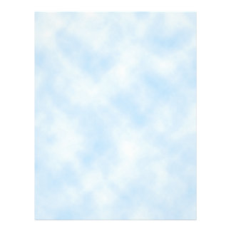 Custom Template: Blue Sky With Clouds Letterhead