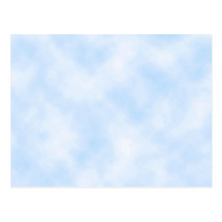 Custom Template: Blue Sky With Clouds Postcard