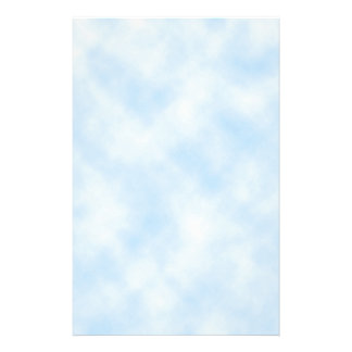 Custom Template: Blue Sky With Clouds Stationery
