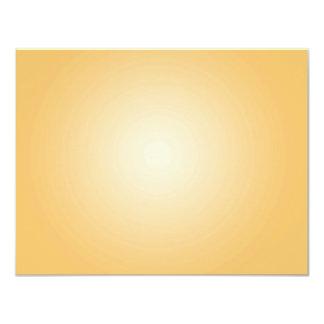Custom Template: Gradient Radial Orange White Card
