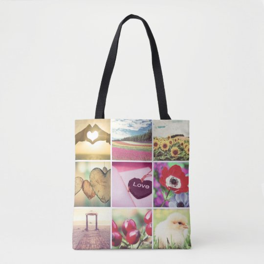 Custom template photo tote bag zazzle custom template photo tote bag maxwellsz