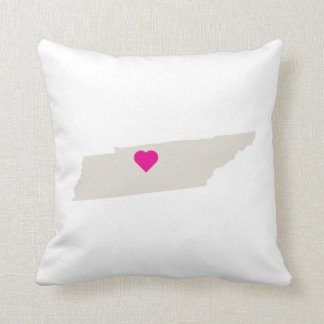 Custom Tennessee State Love Reversible Pillow