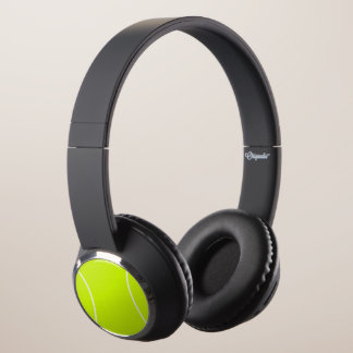 Custom Tennis Ball Bluetooth Wireless Headphones