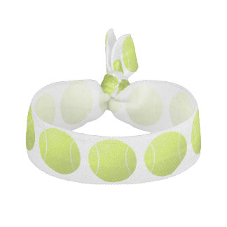 Custom Tennis Ball Hairties for Players or Team Hair Tie