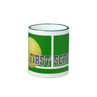Custom Tennis Gifts Coffee Mugs