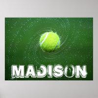 Custom Tennis Poster