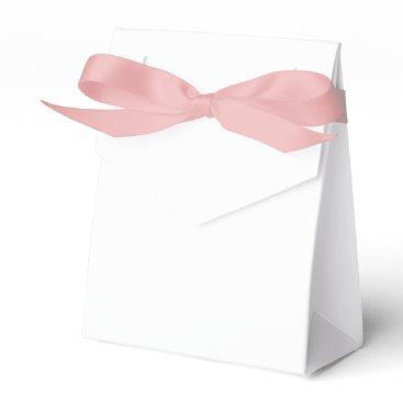 Beach Themed Custom Tent Favor Box (Pink Ribbon)