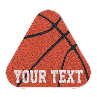 Custom Text Basketball Bluetooth Speaker