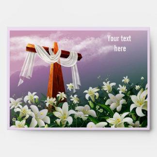 Custom Text . Easter Offering Envelopes