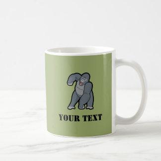 Custom Text Gorilla Coffee Mug