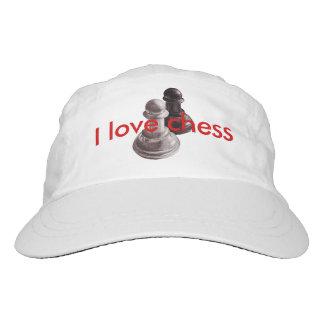 Custom Text Pencil Drawn Pawns Love Chess Hat