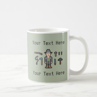 Custom Text Vampire Hunter Coffee Mug