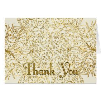 Custom Thank You 3 Shelley Card