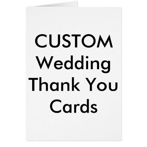 Custom Thank You Cards   Zazzle