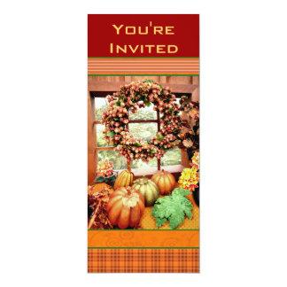 Custom Thankgiving Dinner Party Invitation