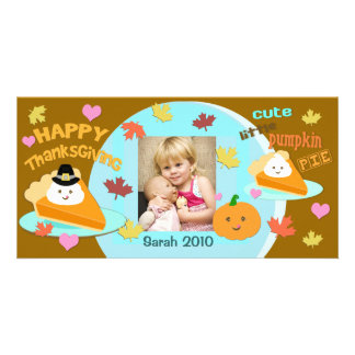 Custom Thanksgiving / Holiday Photo Card