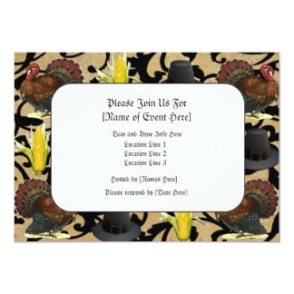 Custom Thanksgiving Invites