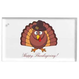 Custom Thanksgiving Place Card Holders Turkey