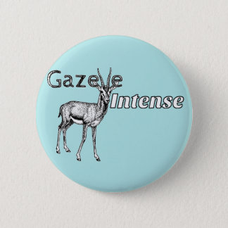Custom the Color! Gazelle Intense Motivational Pinback Button