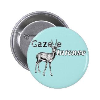 Custom the Color! Gazelle Intense Motivational Pinback Button