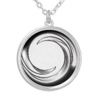 Custom Three-Dimensional Silver Design Necklace