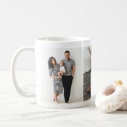 Custom Three Photo Collage Mug