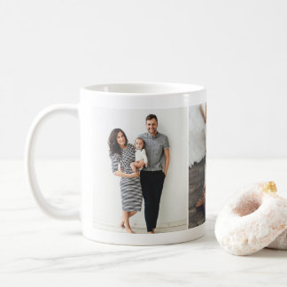 Custom Three Photo Collage Mug