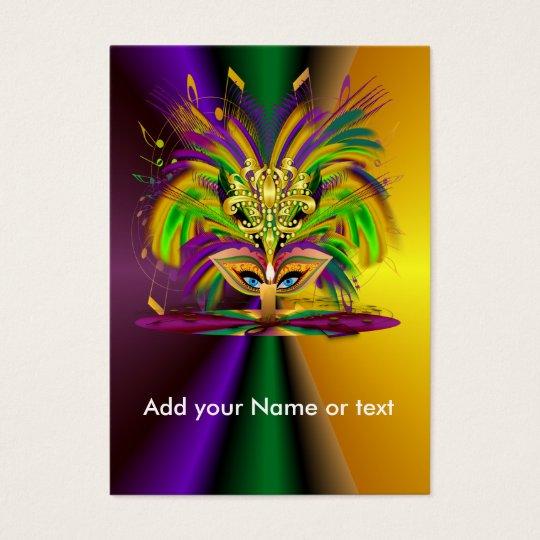 Custom throw the Queen Business Card