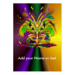 Custom throw the Queen Large Business Card