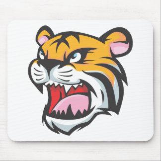 Custom Tiger Roar Cartoon Mouse Pad