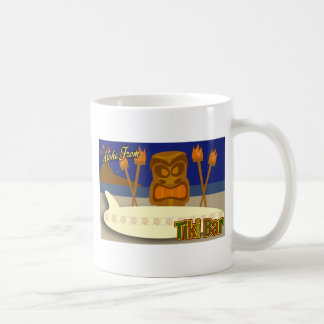 Custom Tiki Bar Sign Coffee Mug