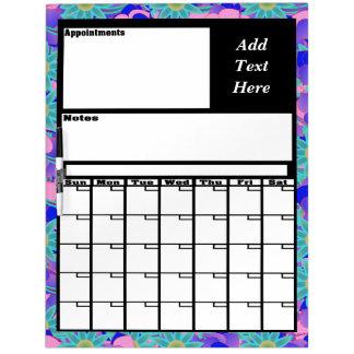 Custom To Do Calendar Dry Erase Board