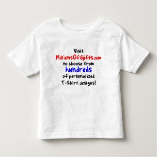 Custom Toddler Twofer T-Shirt