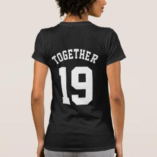 Custom Together Since Couple Tshirt