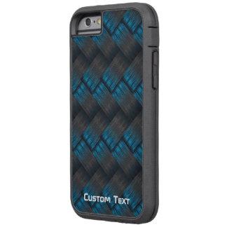 Custom Tough Carbon Fibre Weave Texture Tough Xtreme iPhone 6 Case