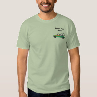 Custom Tow Truck Embroidered Shirt