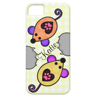 Custom Toy Mice Paws Cat Lover iPhone 5/5S Case