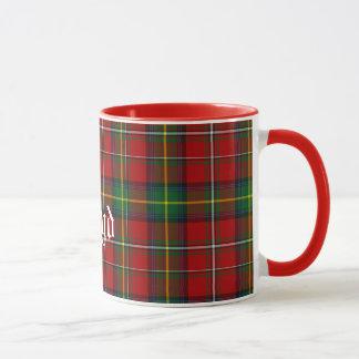 Custom Traditional Boyd Tartan Plaid Mug